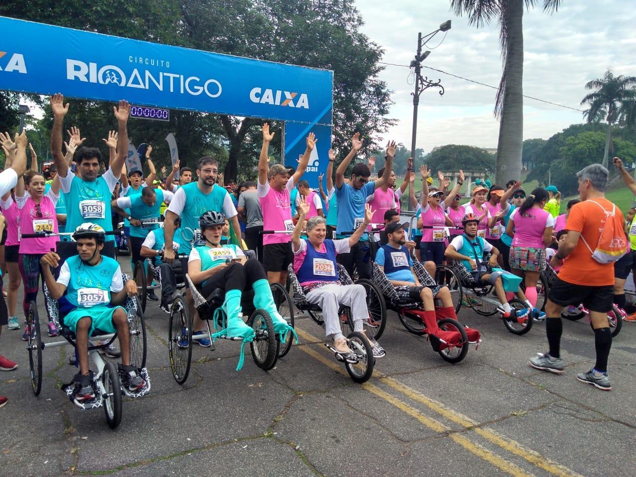 Circuito Rio Antigo : Dia de corrida e solidariedade na quinta da boa vista eu rio!
